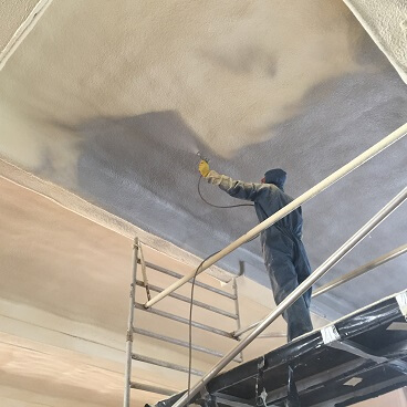 Spray foam insulation London.